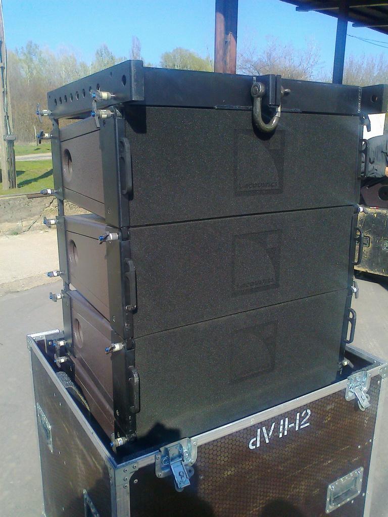 L Acoustics Large Turn Key V Dosc Dv Dosc Package For