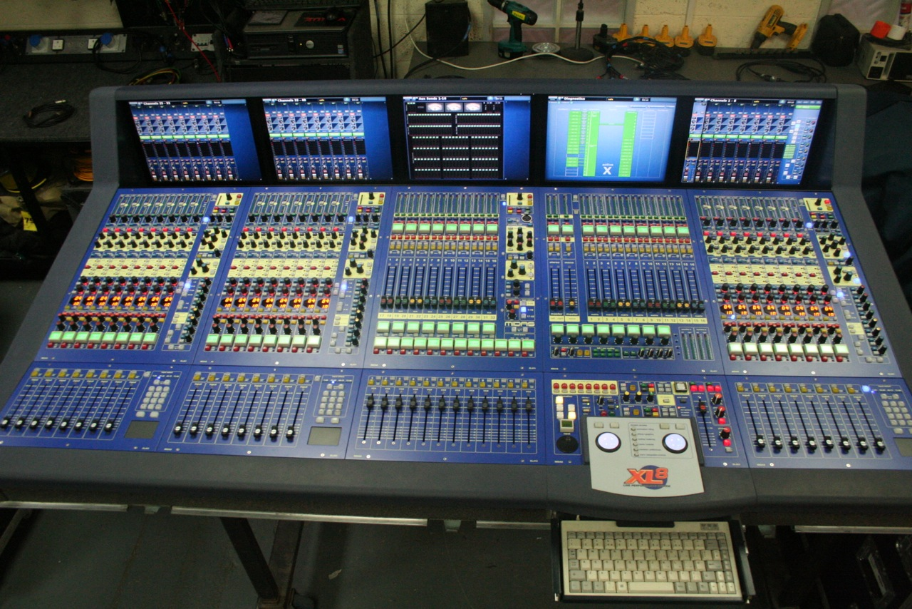 Digital Audio Consoles Midas Yamaha Digico Avid And
